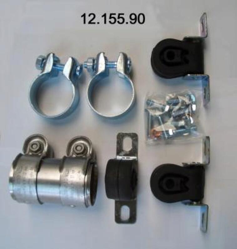 Montagesatz, Abgasanlage