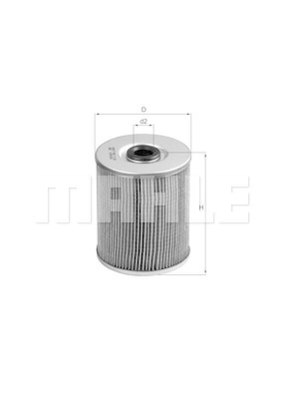 MAHLE ORIGINAL Filter, Arbeitshydraulik