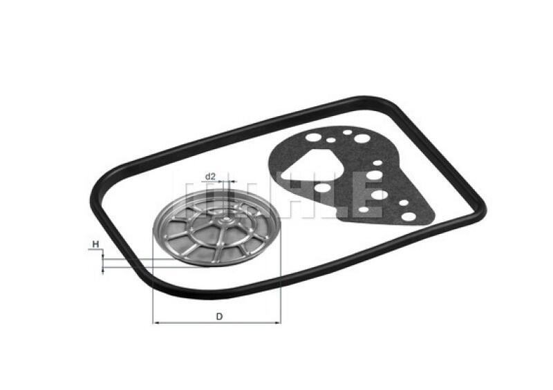 MAHLE ORIGINAL Hydraulikfilter, Automatikgetriebe