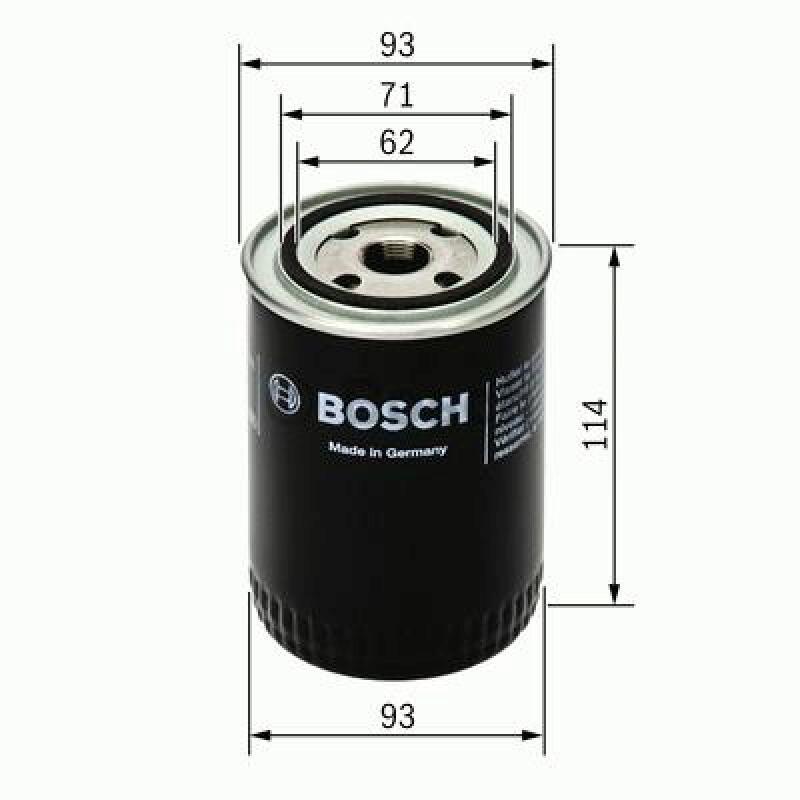 BOSCH Hydraulikfilter, Automatikgetriebe