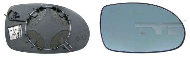 Spiegelglas, Außenspiegel