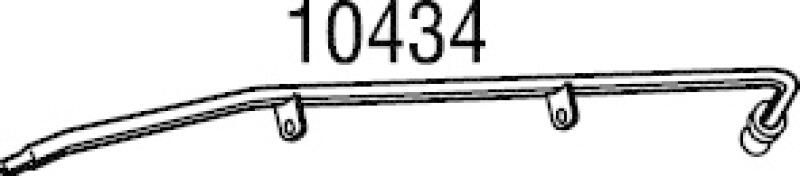 WALKER Druckleitung, Drucksensor (Ruß-/Partikelfilter)