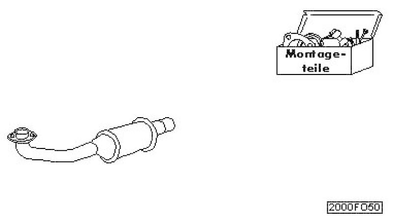 HJS Nachrüstsatz, Katalysator Oxi-Kat, Upgrade auf EURO1