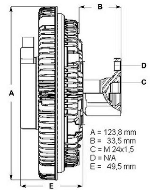 BERU Kupplung, Kühlerlüfter
