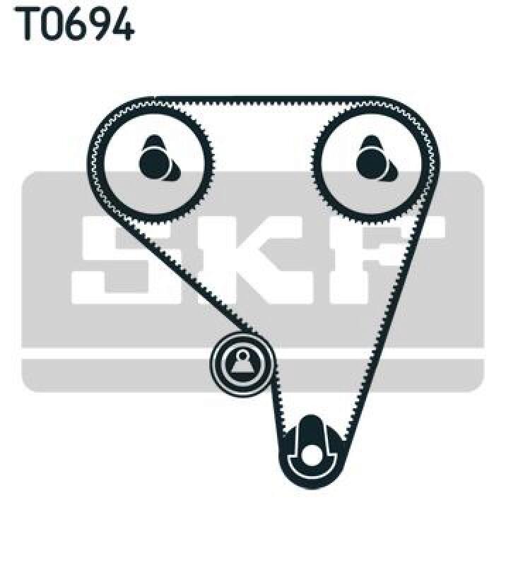SKF Zahnriemensatz