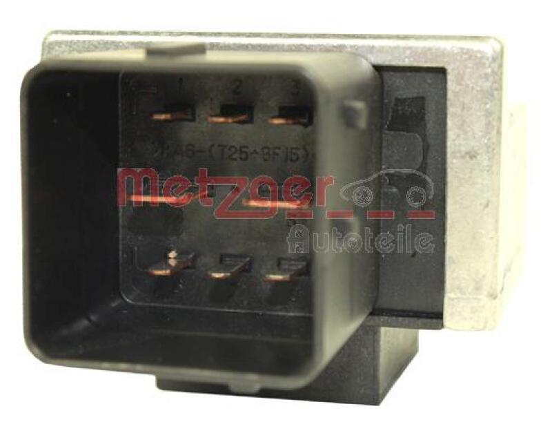 METZGER Relais, Glühanlage Original Ersatzteil