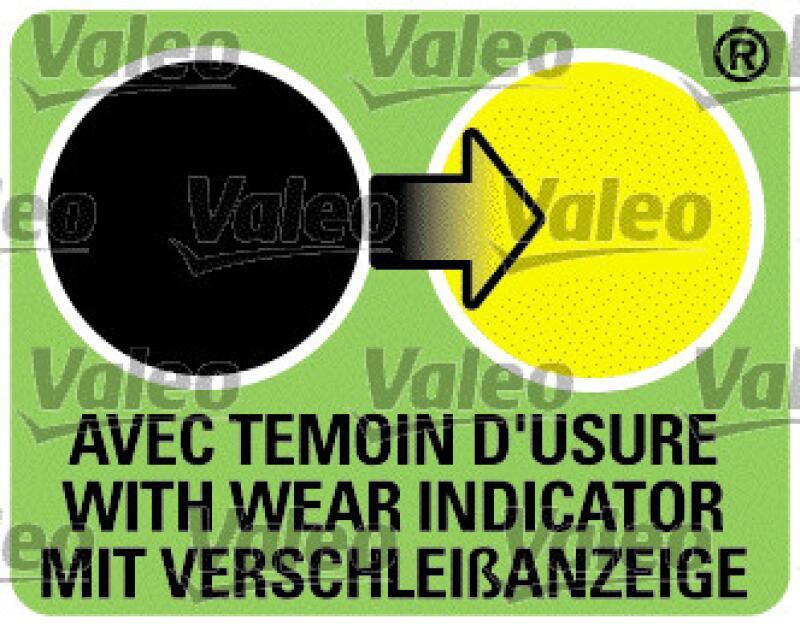 VALEO Scheibenwischer / Wischblatt SILENCIO X.TRM