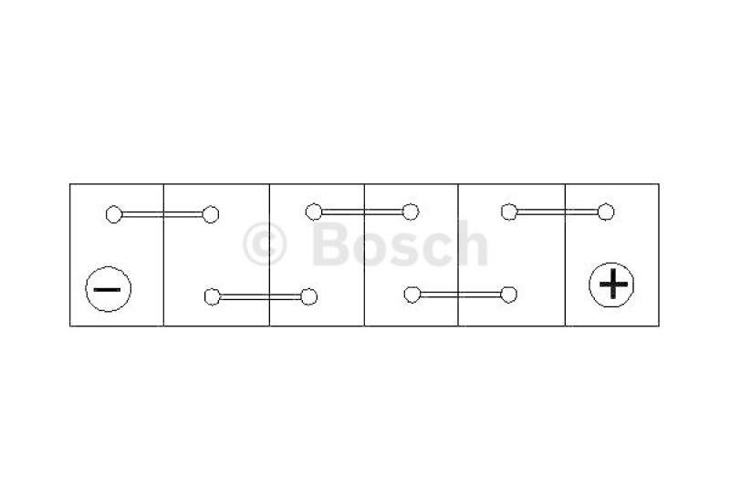 BOSCH Starterbatterie S4