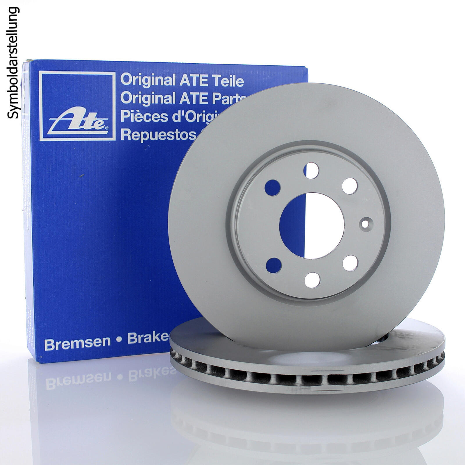2x ATE Brake Disc