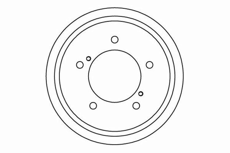 2x Bremstrommel