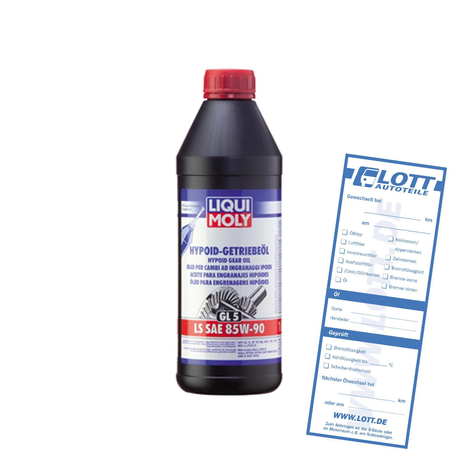 Liqui Moly Hypoidgetriebeöl SAE 85W-90