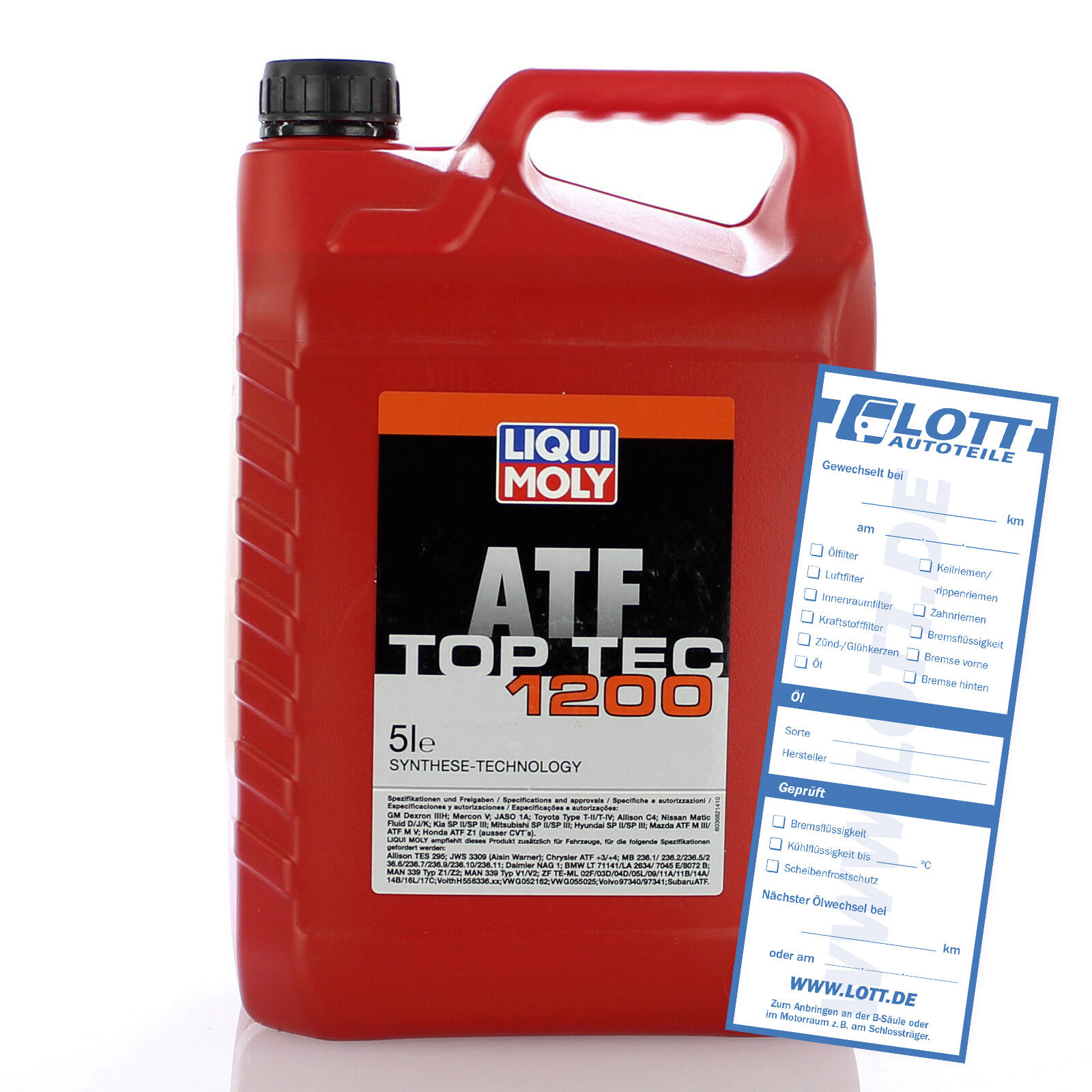 Liqui Moly Automatikgetriebeöl Top Tec ATF 1200 5L