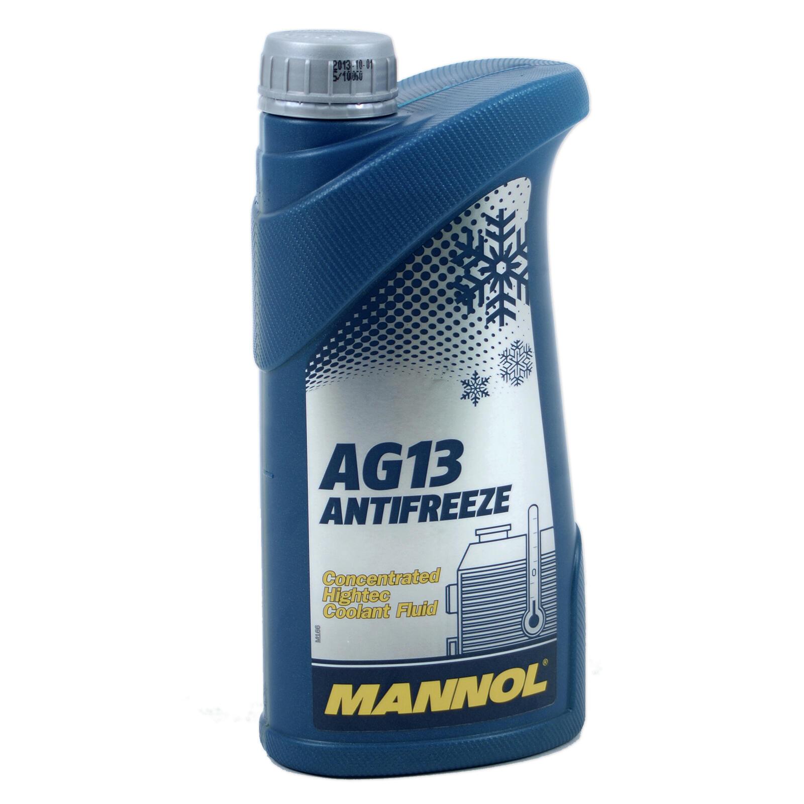 MANNOL Kühlerfrostschutz Konzentrat Hightech Antifreeze AG13 -40° SAE J1034