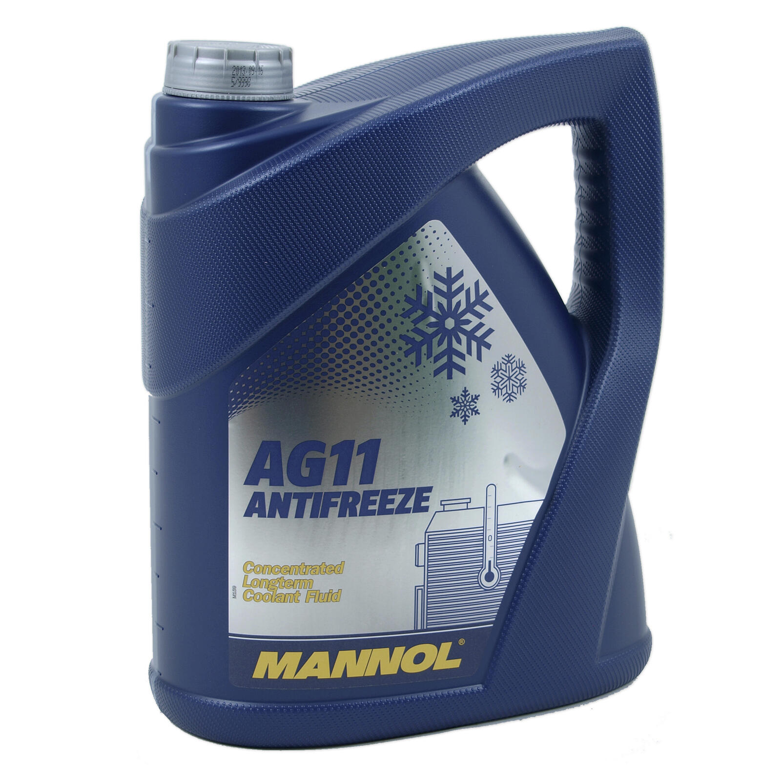 MANNOL Kühlerfrostschutz Kühlmittel Longterm Antifreeze AG 11 Konzentrat 5 Liter