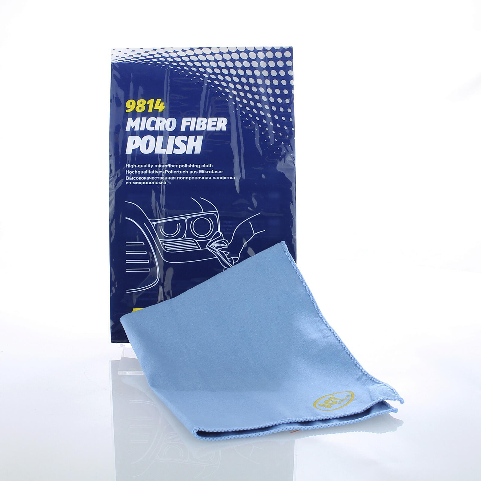 Mannol Micro Fiber Polish Faserpolitur Lackoberfläche Faserflor