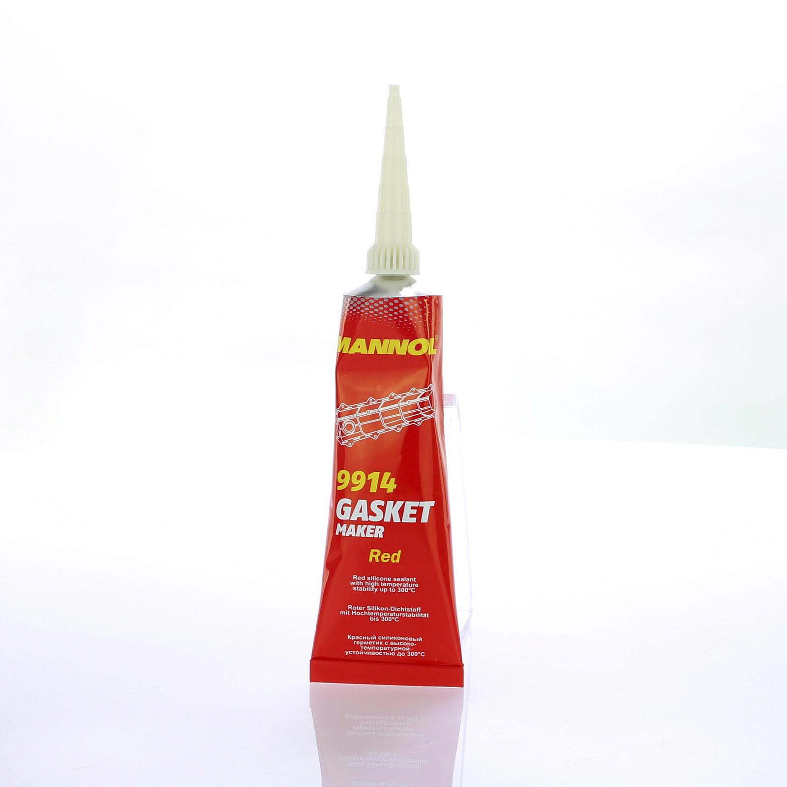 Mannol Gasket Maker Red 85g Dichtungsmittel für Öl & Getriebeölwannen