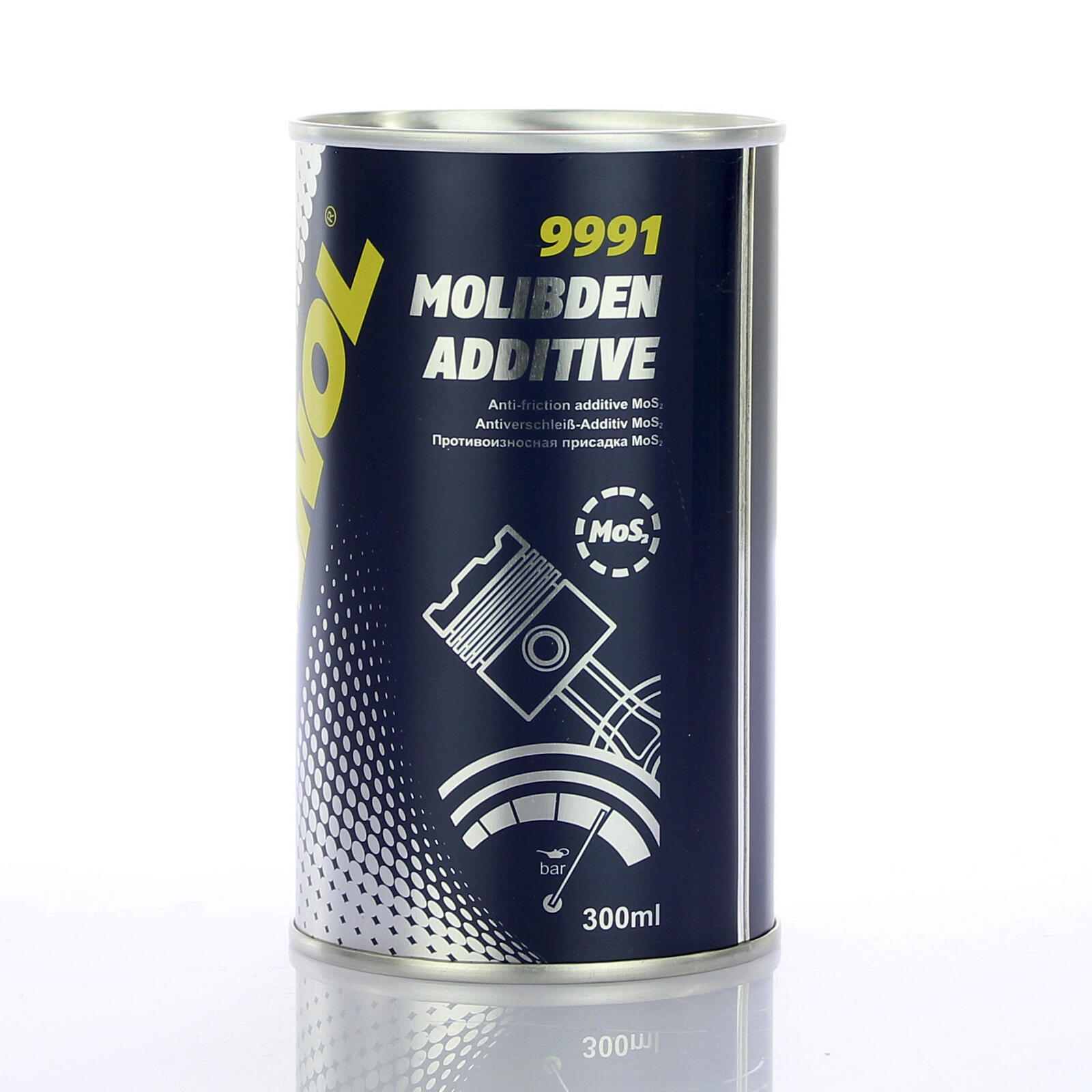 Mannol Motoradditiv 300ml MOS2 Motorölzusatz mindert Verschleiß & Reibung