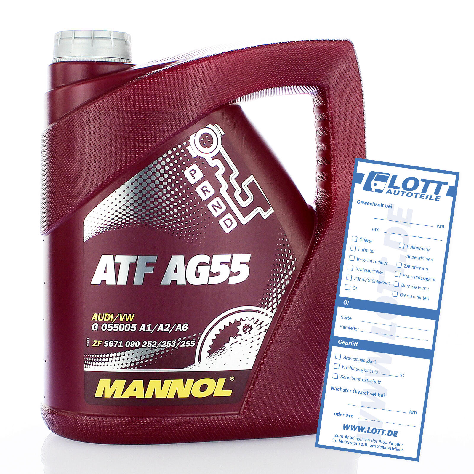MANNOL ATF AG55 Automatik Getriebeöl 4 Liter