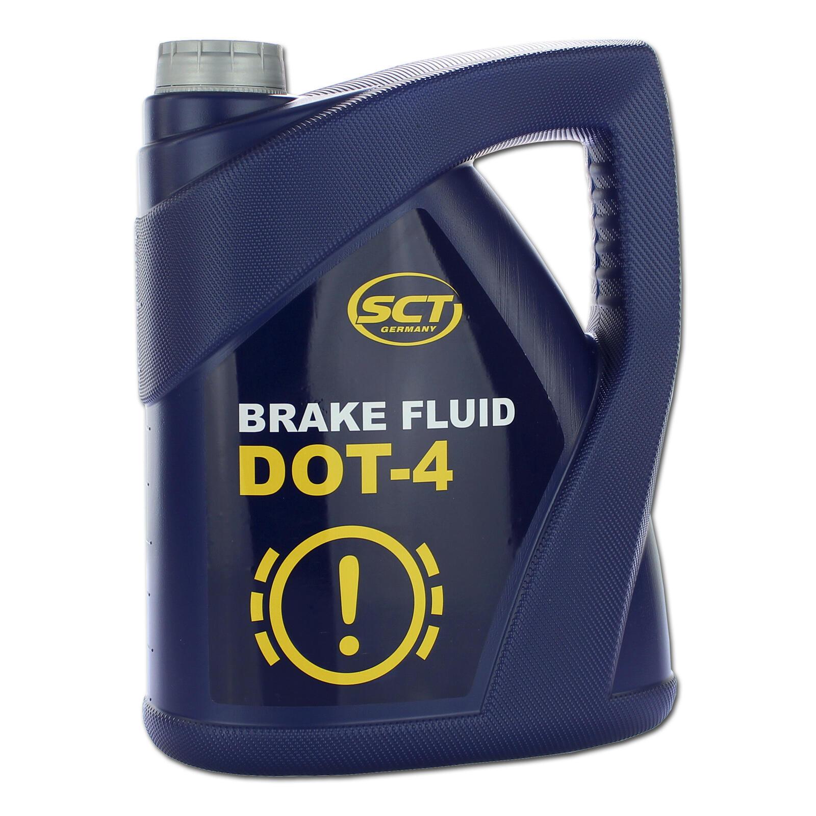 SCT Germany Bremsflüssigkeit 5kg // 5 Liter DOT 4 SAE J 1703 Brake Fluid