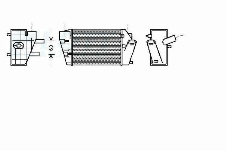 AVA QUALITY COOLING Ladeluftkühler