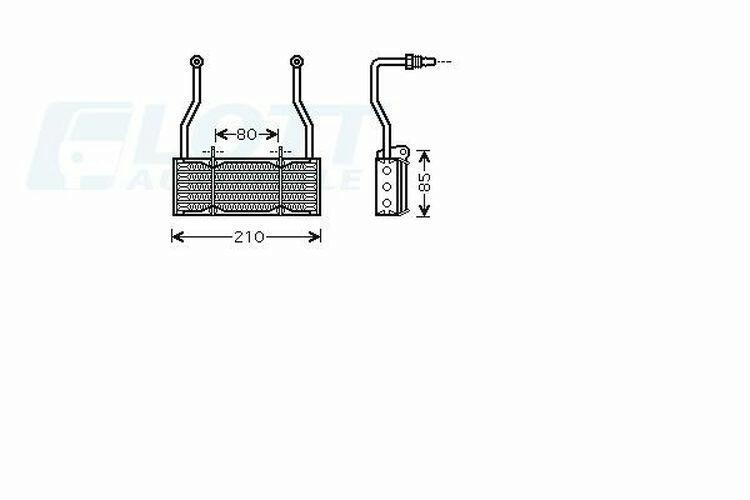 AVA QUALITY COOLING Ölkühler, Motoröl