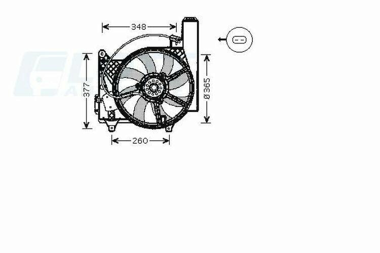 AVA QUALITY COOLING Lüfter, Motorkühlung