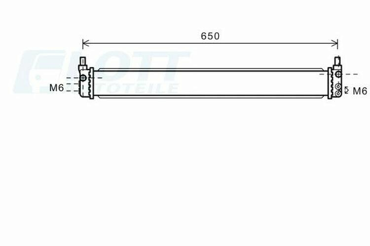 AVA QUALITY COOLING Kühler, Antriebsbatterie