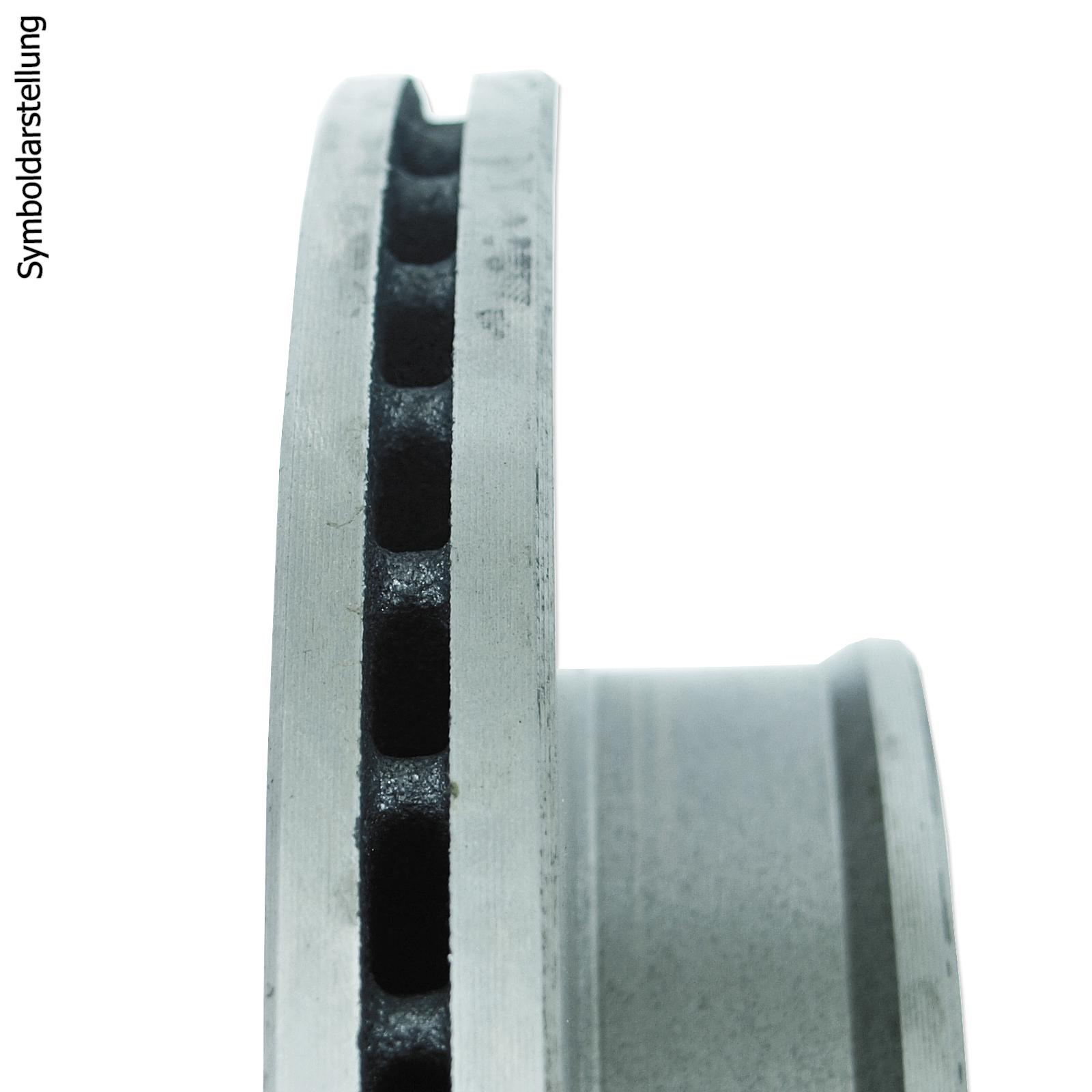 BREMSSCHEIBEN 266mm + BREMSBELÄGE