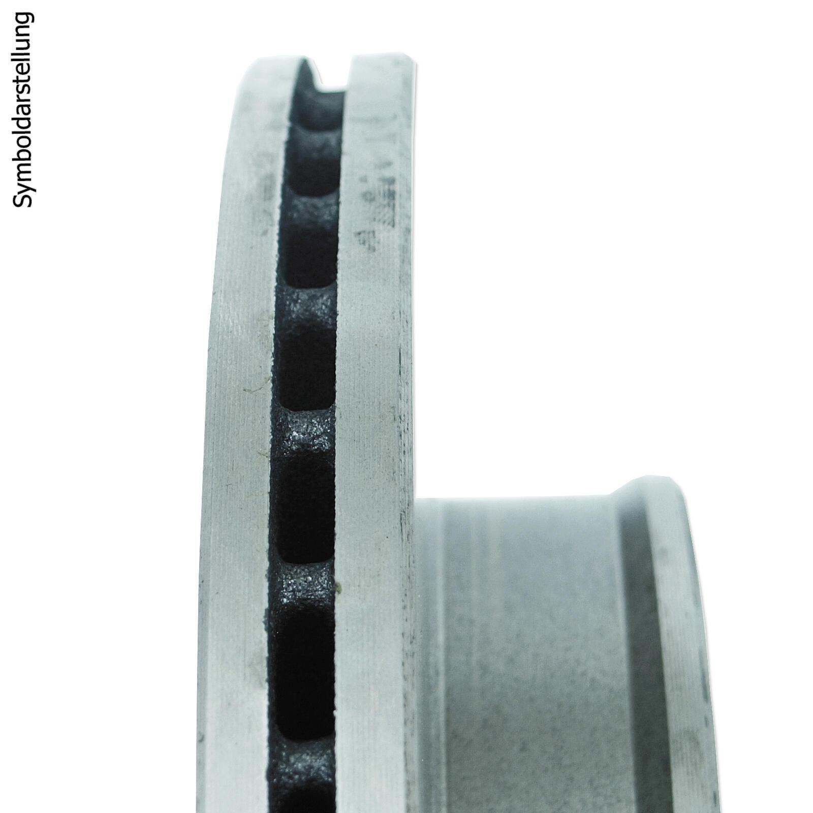 BREMSSCHEIBEN 280mm 5-LOCH + BREMSBELÄGE