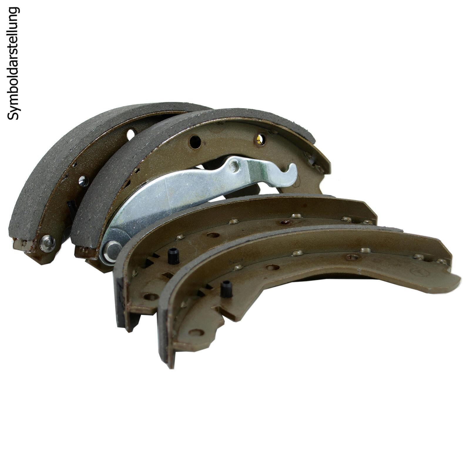 BREMSTROMMELN 228,3mm + BREMSBACKEN + RADBREMSZYLINDER + MONTAGESATZ