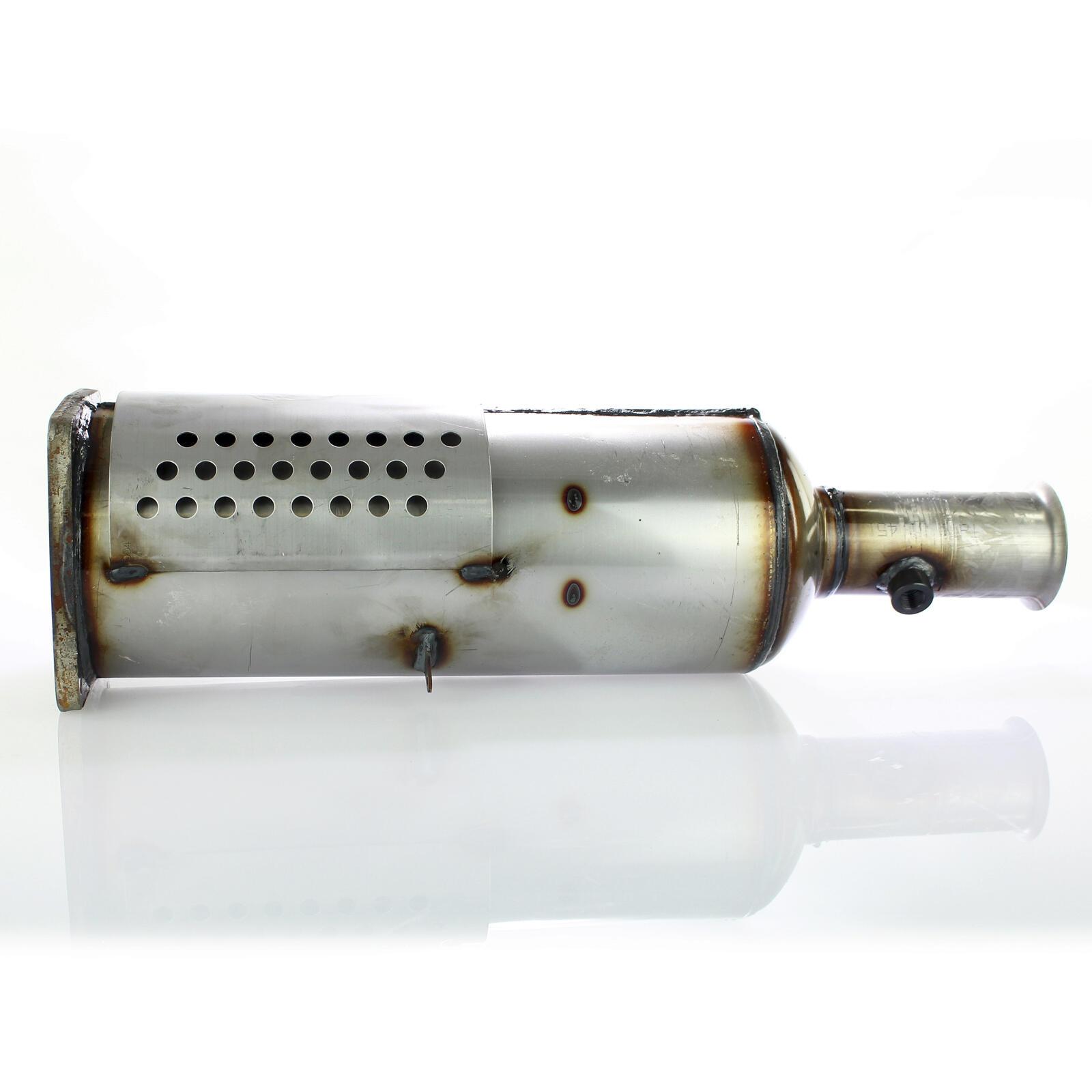 Ruß-/Partikelfilter, Abgasanlage