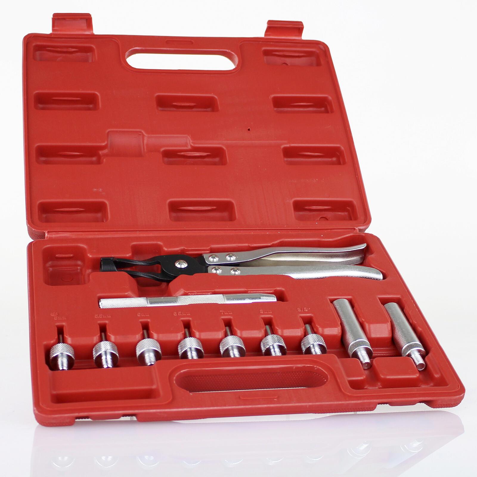 11tlg De-/Montage Werkzeug Ventilschaftdichtung Montage Werkzeug Satz