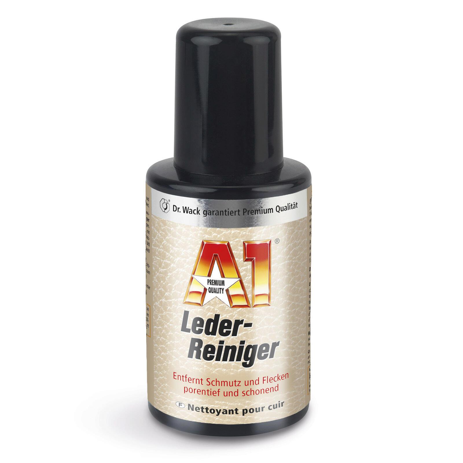 Dr. Wack A1 Lederreiniger 250 ML ATL porentiefe Reinigung ideal für helles Leder