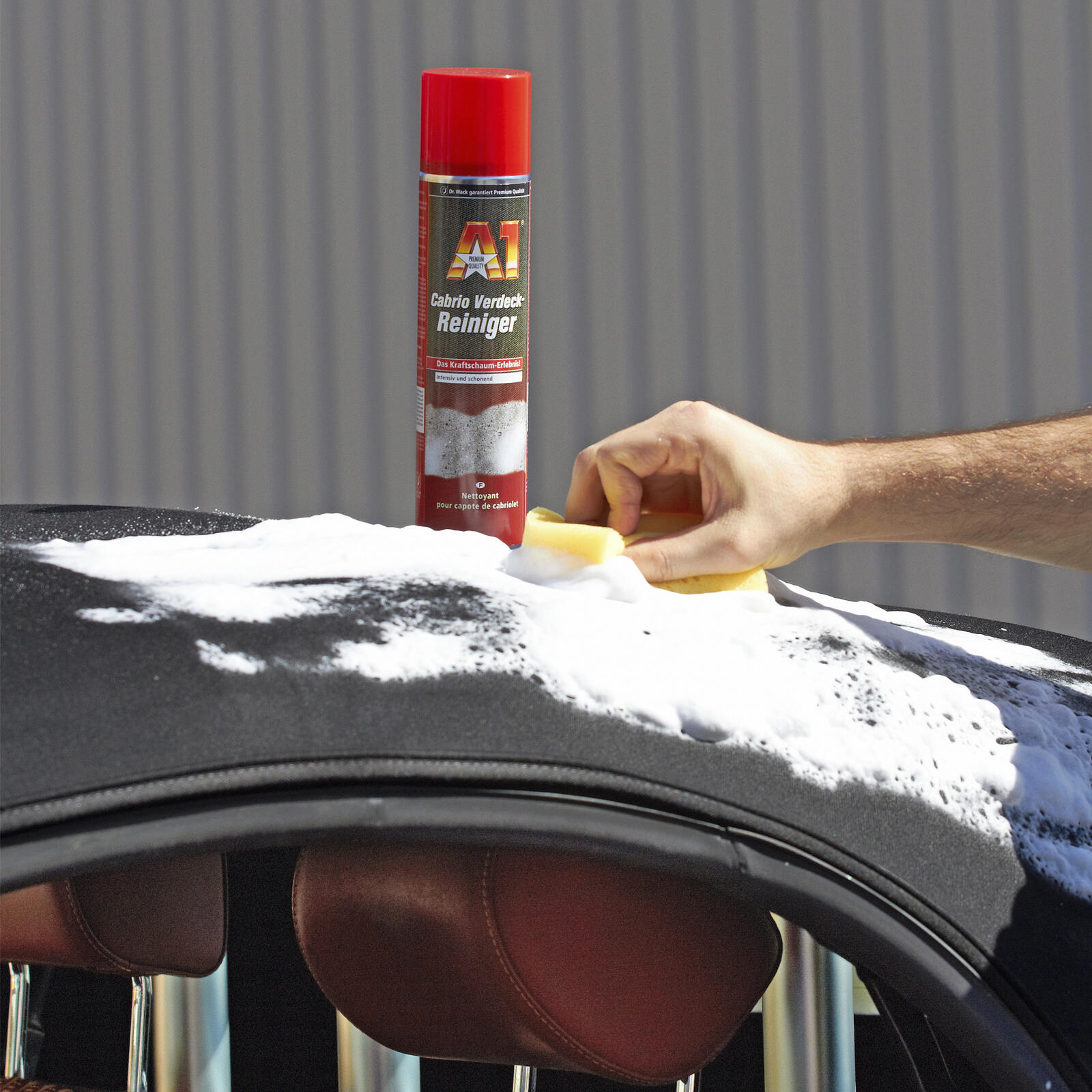 dr wack a1 cabrio verdeck reiniger 400 ml. Black Bedroom Furniture Sets. Home Design Ideas