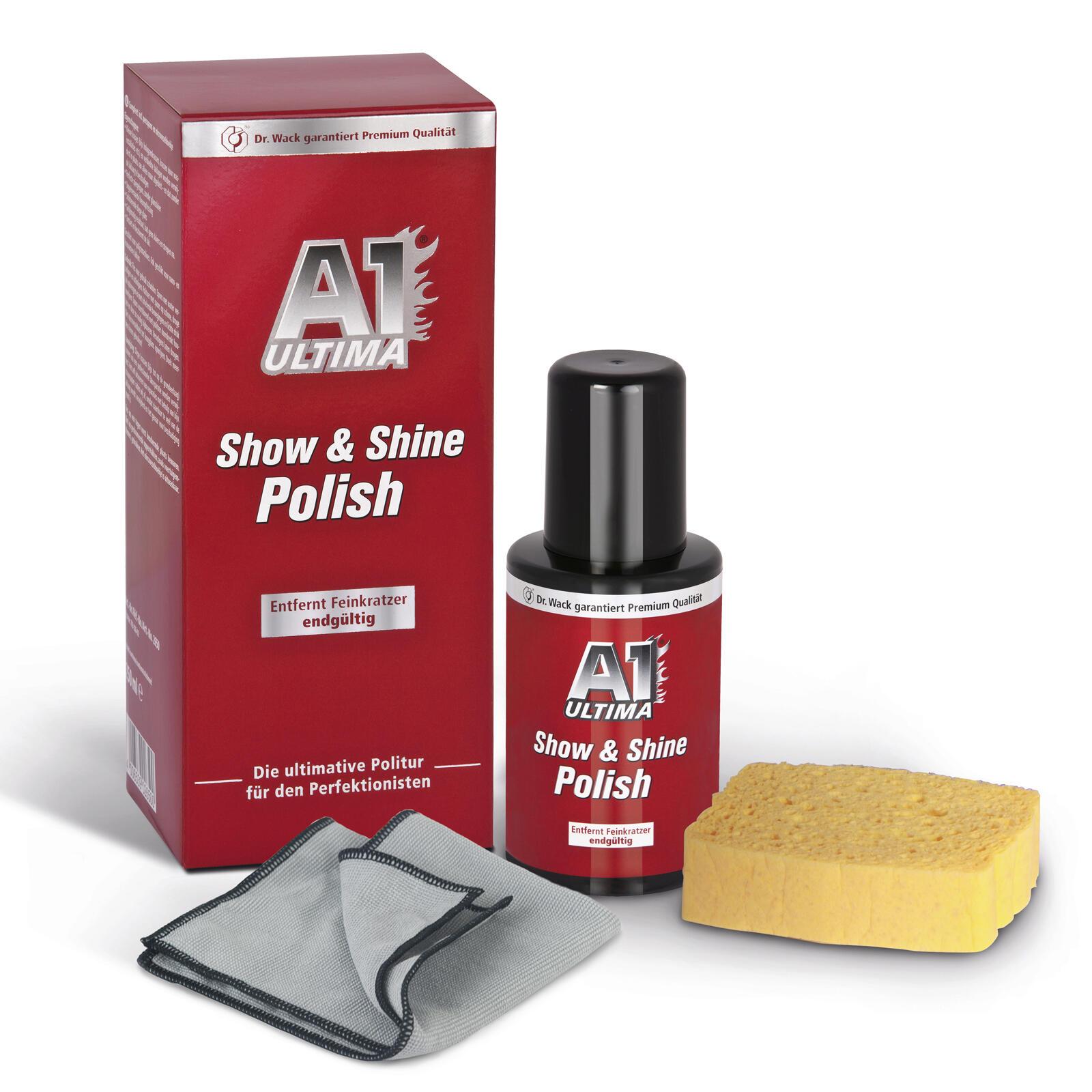 Dr. Wack A1 SHOW & SHINE POLISH 250 ML Politur für einen perfekten Auftritt