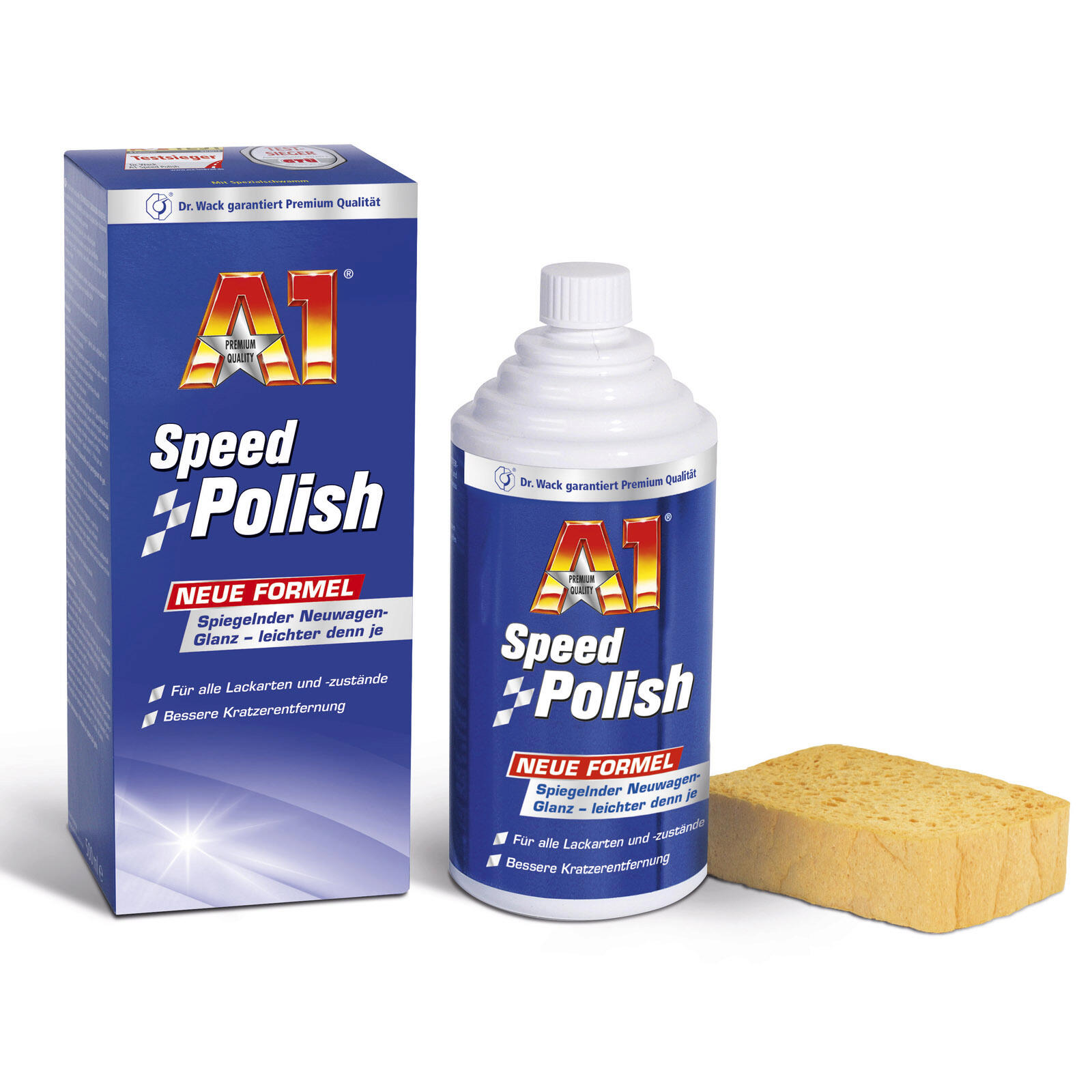 Dr.Wack A1 Speed Polish 500 ML spiegelnder Original-Tiefenglanz // Versiegelung