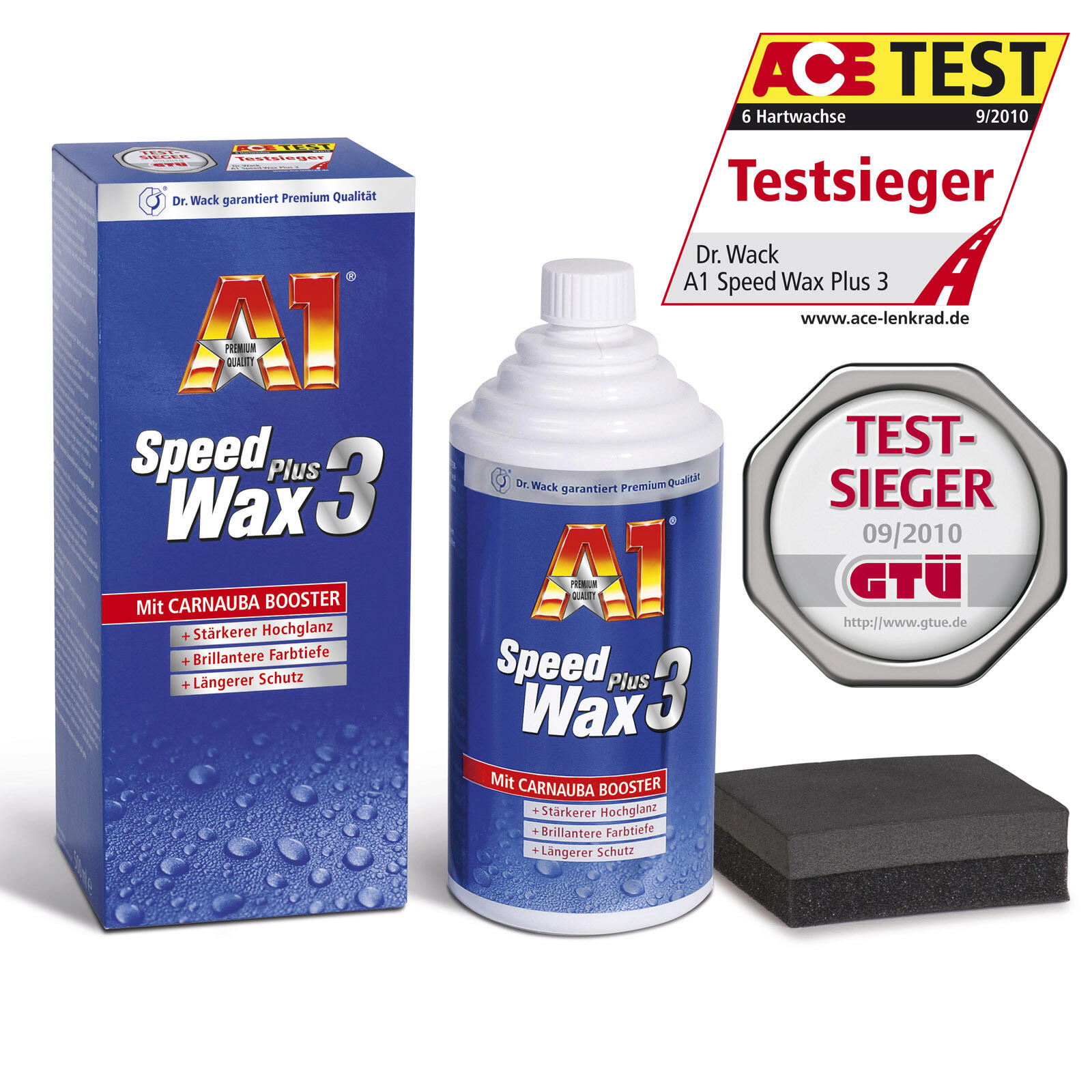 dr wack a1 speed wax plus 3 500 ml langfristiger. Black Bedroom Furniture Sets. Home Design Ideas