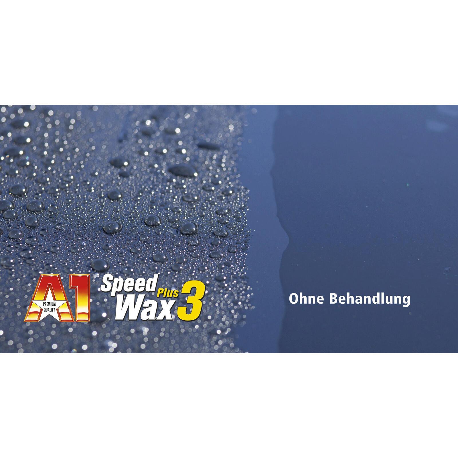 Dr. Wack A1 Speed Wax Plus 3 500 ML langfristiger Lackschutz Carnauba Booster