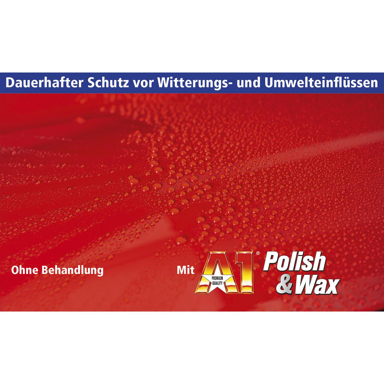 DR. Wack A1 Polish + Wax 500ml