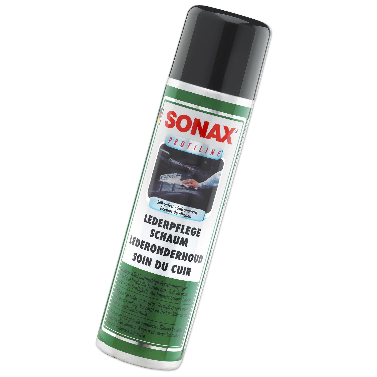 SONAX PROFILINE LederPflegeSchaum 400ml