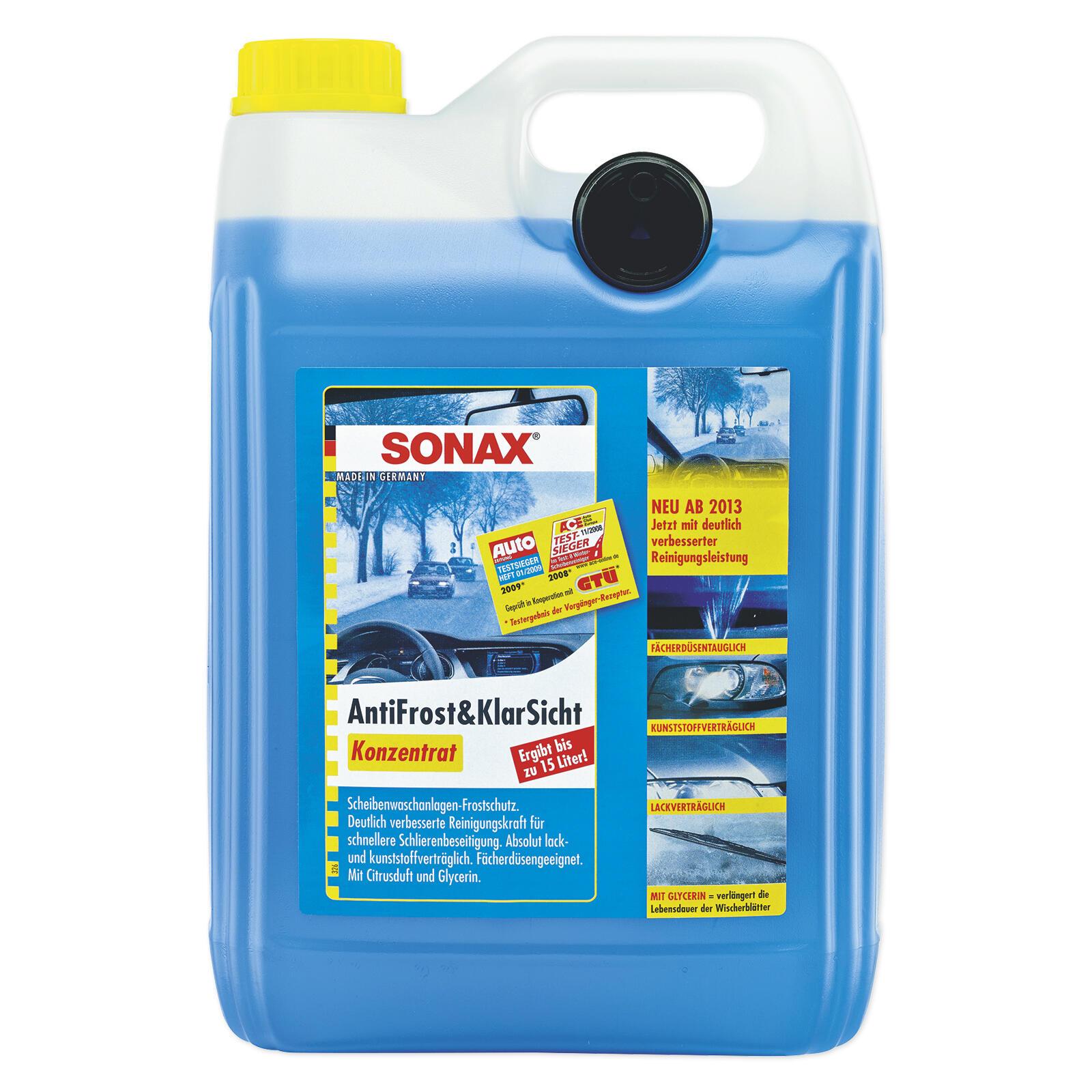 SONAX AntiFrost&KlarSicht Konzentrat 5l