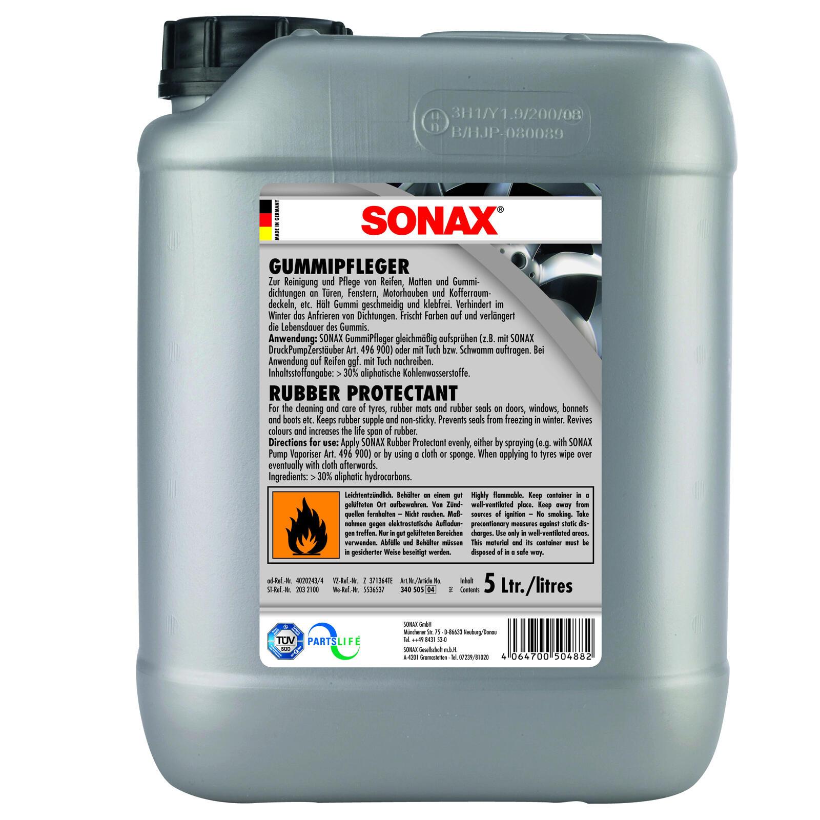 SONAX GummiPfleger 5l