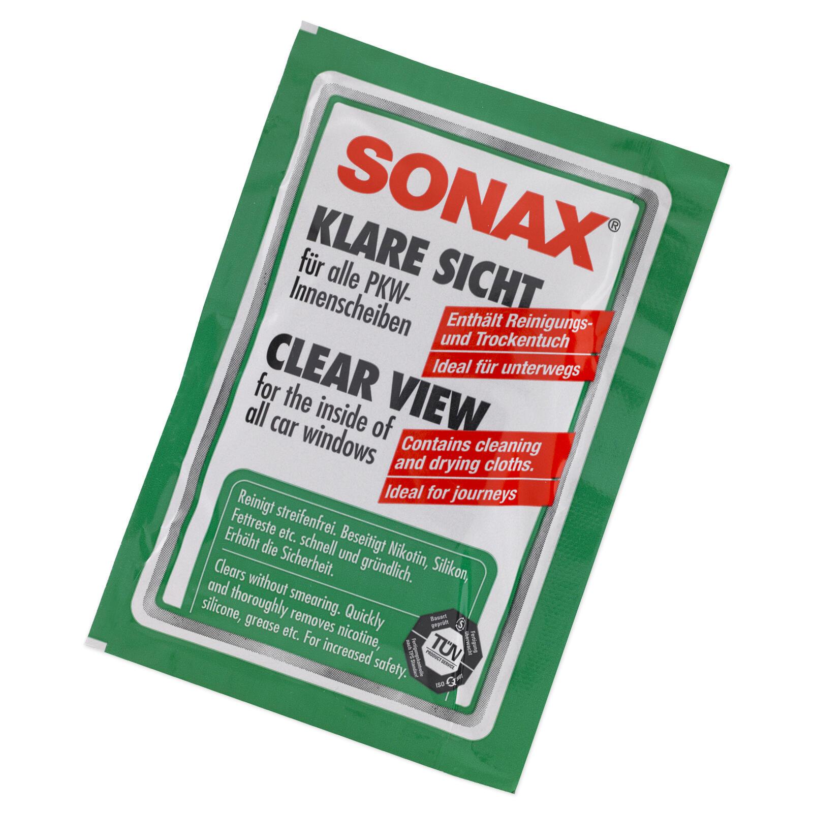 SONAX Klare Sicht Doppeltuch 40Stk.