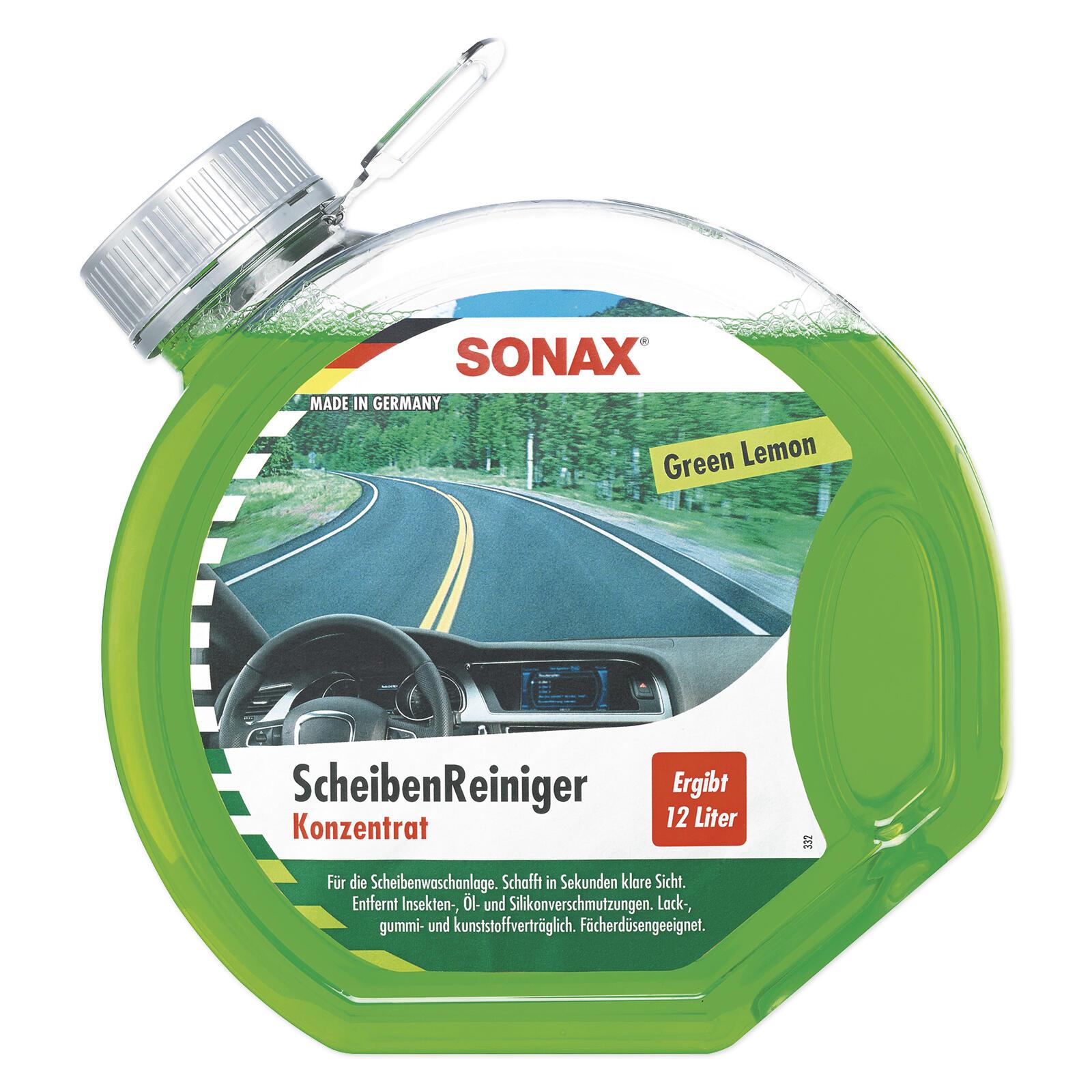 SONAX ScheibenReiniger Konzentrat Green Lemon 3l