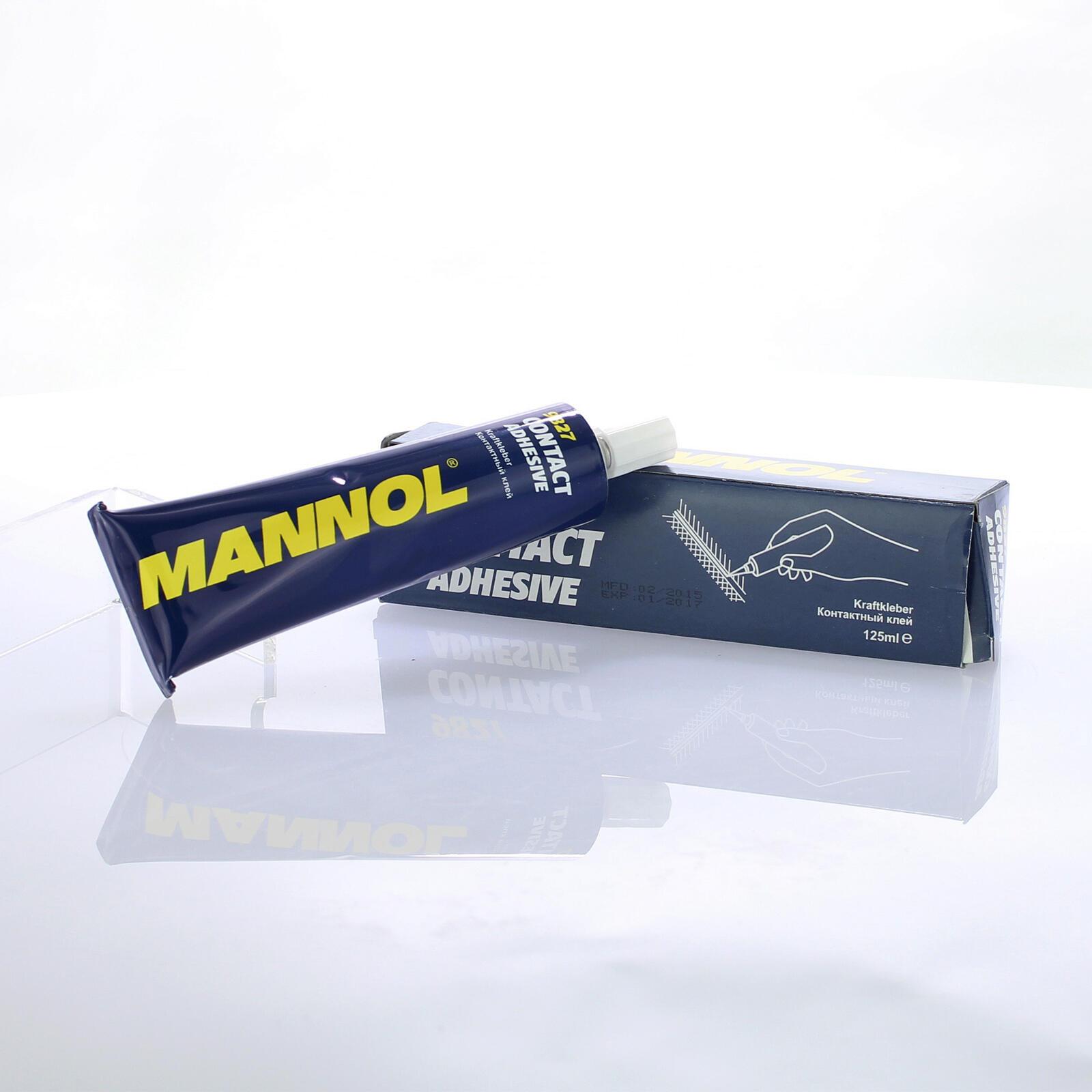 Mannol Contact Adhesive 125ml Universalkleber für Gummi Leder Filz Metall