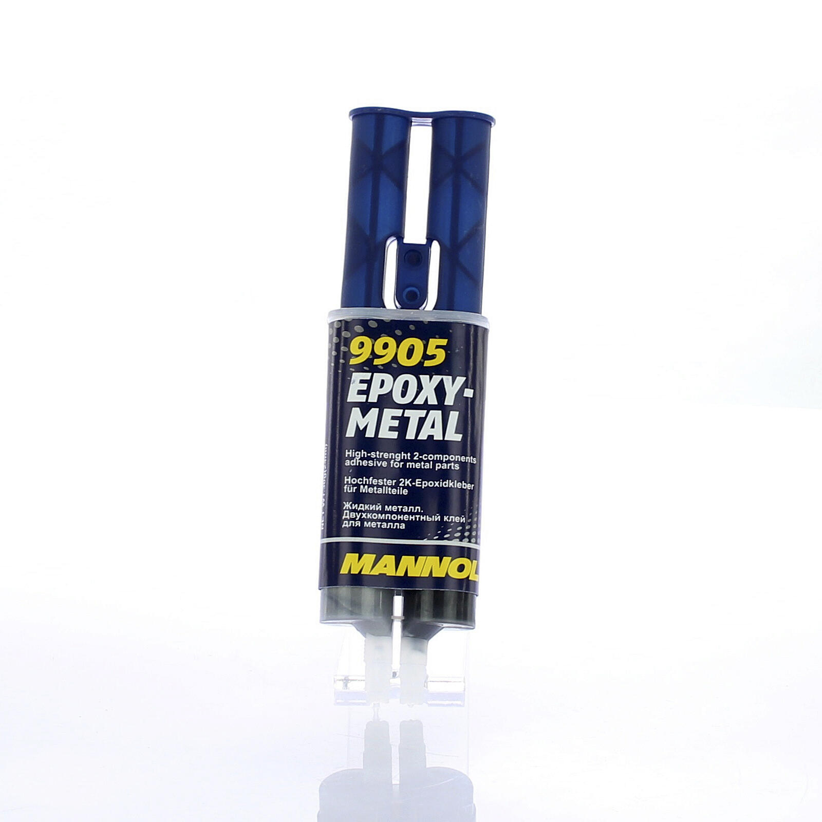 Mannol 30g Epoxy-Metall Kleber für Stahl Alu Messing Eisen Blei Zinn