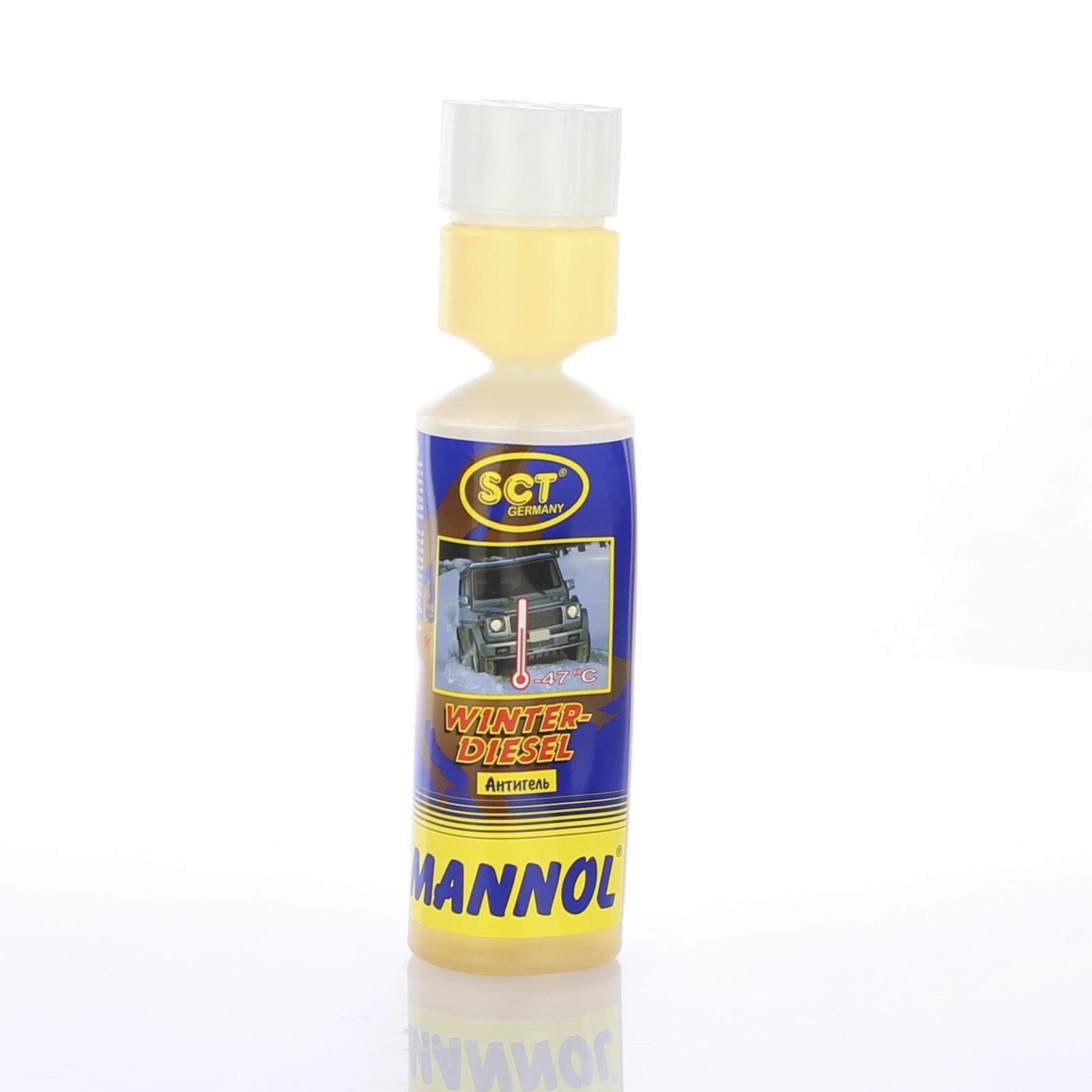 MANNOL WINTERDIESEL Fließverbesserer 250 ml Dieseladditive Stockpunkt senkend