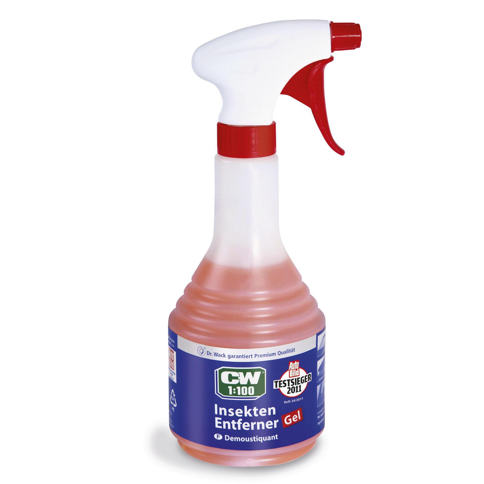 Dr. Wack CW 1:100 Insektenentferner Gel 500ml ATL tropft nicht wirkt optimal ein