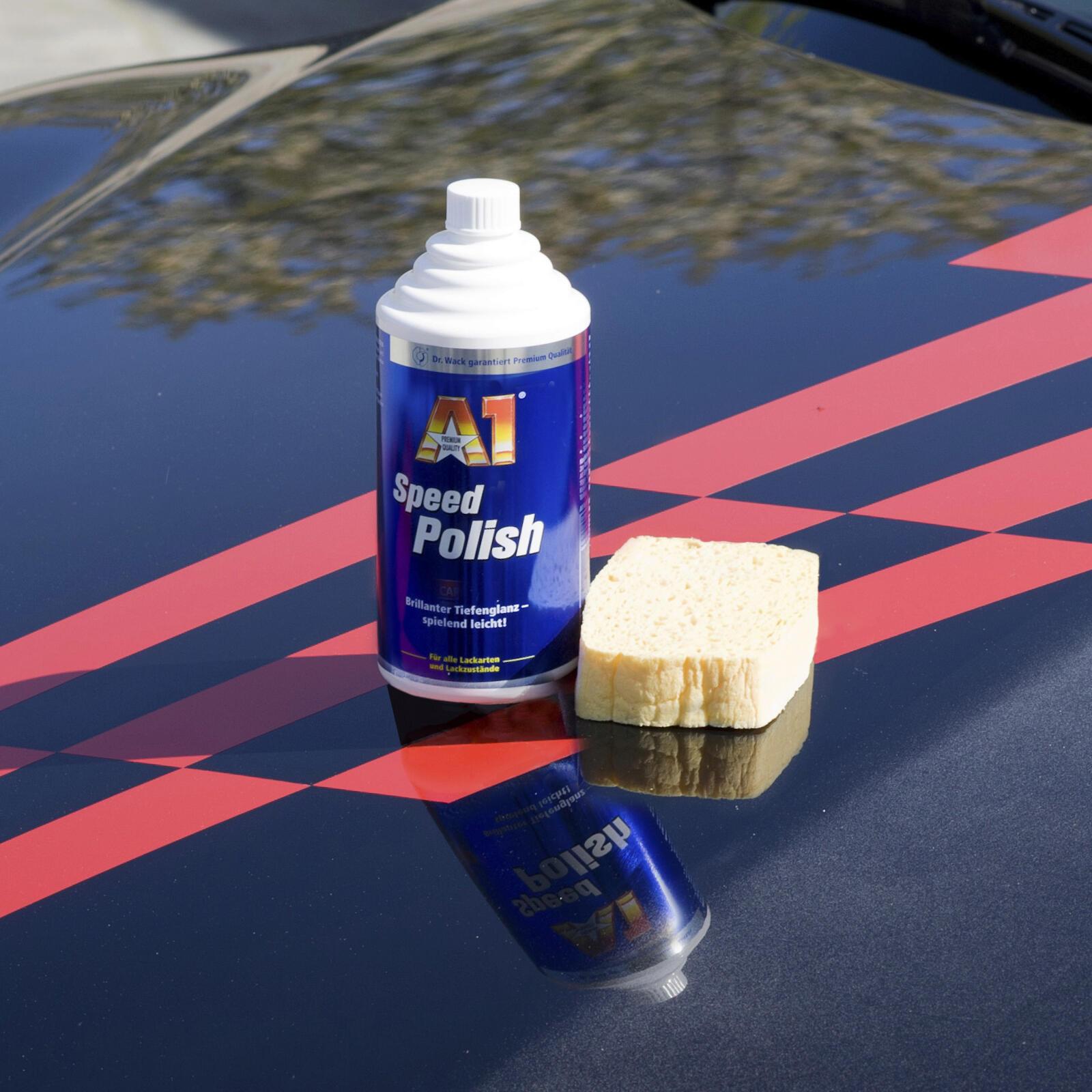 dr wack a1 speed polish 500 ml spiegelnder original. Black Bedroom Furniture Sets. Home Design Ideas