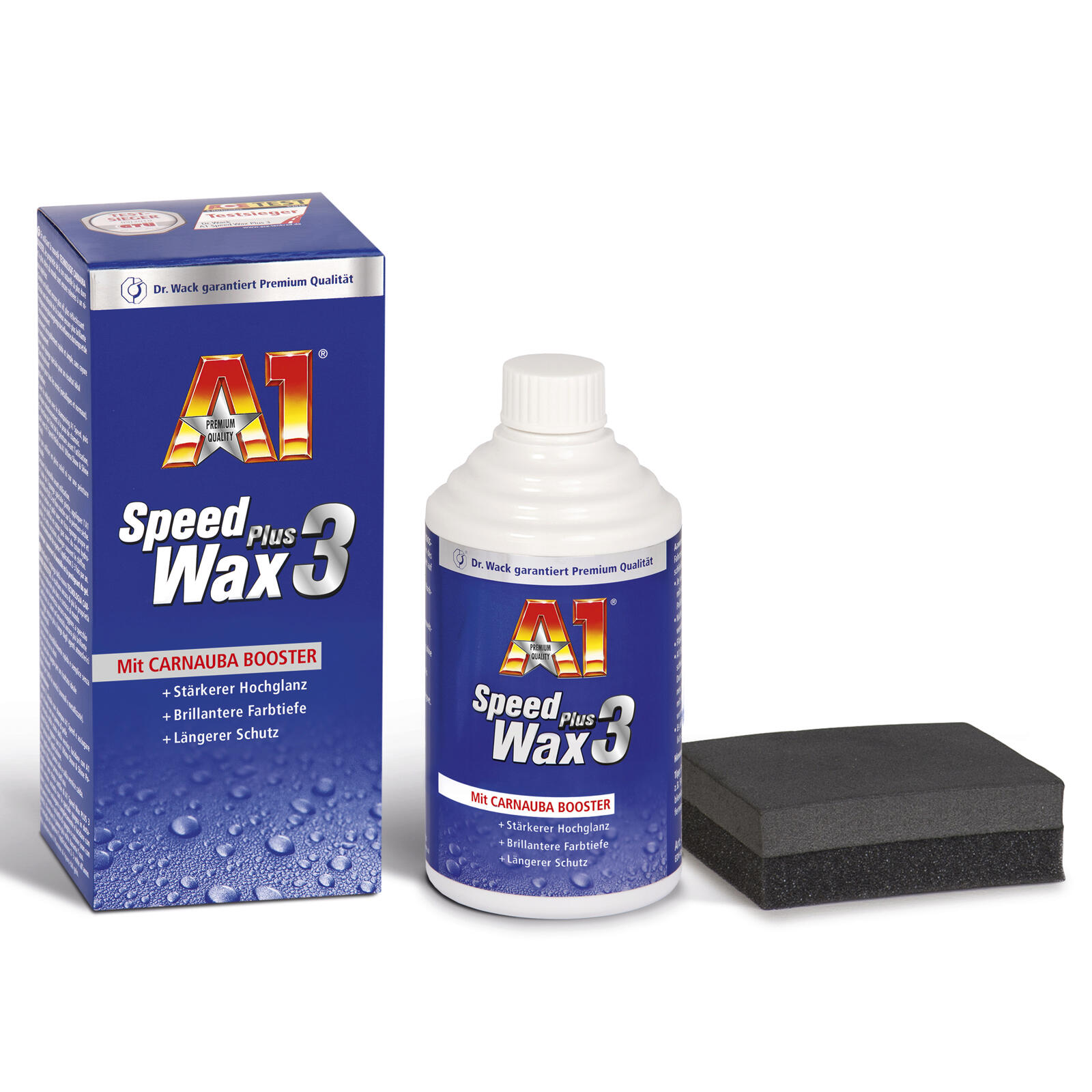 Dr. Wack A1 Speed Wax Plus 3 250 ML 6 Monate Lackschutz Carnauba Technologie